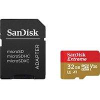 SanDisk SDSQXAF-032G-GN6AT Extreme MicroSDHC UHS-I Kaart 2-Pack 32GB
