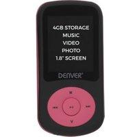 Denver Electronics MPG-4094NRPINK MP4-speler Zwart, Roze 4 GB