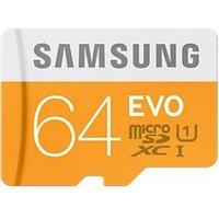 MicroSDHC EVO 64GB + Adapter