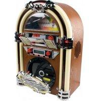 Retro jukebox met AM-FM radio en CD-speler
