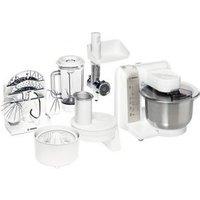 Bosch MUM4880 Keukenmachine Wit-Zilver