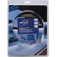 KIT MET FLEXIBELE LED-STRIP EN VOEDING KOUDWIT 300 LEDS 5 m 12Vdc
