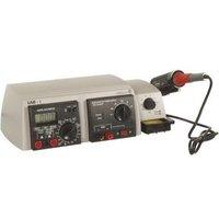 Velleman LAB-1 Digitaal Multifunctioneel soldeerstation 48 W +150 tot +420 °C