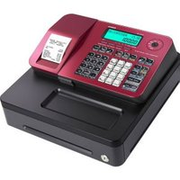 Casio CR SE-S100 (Alpha-numeric ECR\SD card compatible\Thermal printer\12 de (SE-S100S-RD)