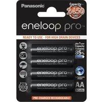 Panasonic 1x4 Panasonic Eneloop Pro Mignon AA 2450 mAh (BK-3HCCE-4BE)