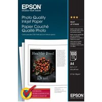 Epson Photo Quality Ink Jet Paper, DIN A4, 102g-m², 100 Vel