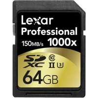 SDXC Card 64GB 1000x Professional UHS-II