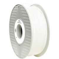 Verbatim 1.75 mm PLA kunststof Filament Wit 1 kg