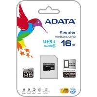 ADATA Premier microSDHC UHS-I U1 Class10 16GB (AUSDH16GUICL10-R)