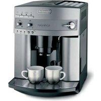 Koffiemachine DeLonghi zwart-zilverkleur