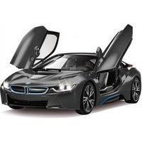 Jamara Jamara BMW I8 1:14 zwart Tr fernbed. 27Mhz (404570)