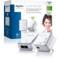Powerline homeplug starterkit dLAN 500 met wifi