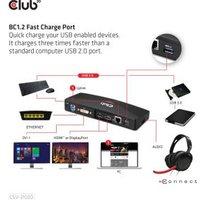 CLUB3D SenseVision USB3.0 4K Docking Station