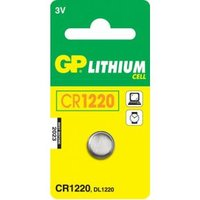 GP Batteries Lithium Cell CR1220