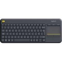 Logitech Wireless Touch K400 Plus DARK NLB 2.4GHZ (920-007131)