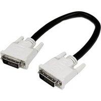 StarTech.com 30 cm DVI-D Dual Link-kabel M-M