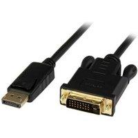StarTech.com 91 cm DisplayPort naar DVI actieve adapterconverterkabel DP naar DVI 2560x1600 zwart