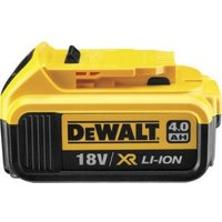 DeWalt 18 V 4.0Ah XR Li-Ion Accu DCB182 (per stuk)