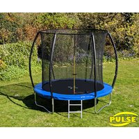 Click to view product details and reviews for 8ft Pulse Blue Trampoline.