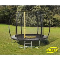10ft Pulse Black trampoline