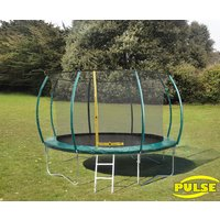 Click to view product details and reviews for 12ft Pulse Green Trampoline.
