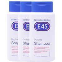 E45 Dry Scalp Shampoo Triple Pack - 3x200ml