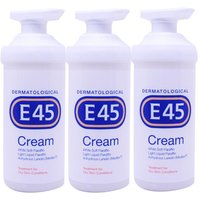 E45 Cream Pump Triple Pack - 3x500ml