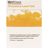 SelfCheck Cholesterol Level Test - 1 Test