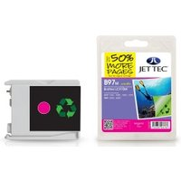 Brother LC970M Magenta Remanufactured Ink Cartridge by JetTec  B97M