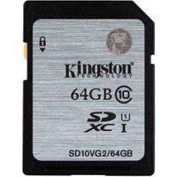 Kingston SDXC Class 10 UHS-I Card - 64GB