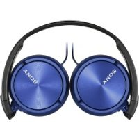 Sony ZX310AP OnEar Headphones  Metallic Blue