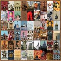 Moskou is groots en meeslepend van het rode plein, het bolshoi theater naar het mausoleum van lenin van zijn ...