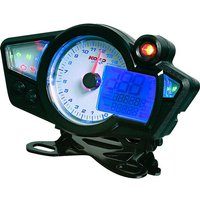 P&W digitales Cockpit GP-Style Drehzahlmesser analog