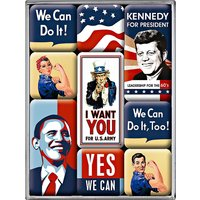 Nostalgic-Art Magnet-Set United States of America
