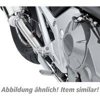 MFW Adaptergelenkpaar für Fußrasten GS3 silber