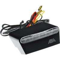 ABM Doppia LED Rück-/Bremslicht/Kennzeichenleuchte Alu