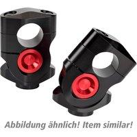 ABM Vario-Riser Klemmbocksatz 28,5 mm silber/schwarz