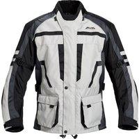 Motorradschutzjacke, Motorradjacke Akuma Tour Textiljacke RO 1522 grau L grau