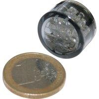 ShinYo LED Einbau Rücklicht Pin Ø20mm getöntes Glas