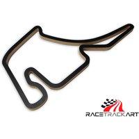 Racetrackart Hockenheimring GP schwarz