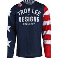 Troy Lee Designs GP AIR Jersey Americana blau Herren Größe S