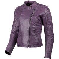 DXR Diana Damen Lederjacke violett Größe 38