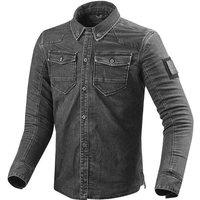 REV'IT! Hudson Motoshirt Textiljacke grau Herren Größe S