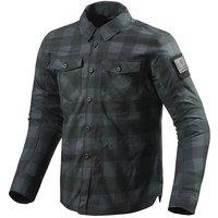 REV'IT! Bison Motoshirt Textiljacke grau Herren Größe XXL