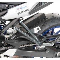 H&B Soziusrasten-Tieferlegung Yamaha MT-09 Tracer anthrazit