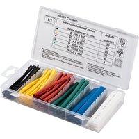 BGS Schrumpfschlauch-Sortiment farbig 100 teilig