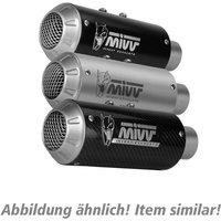 MIVV MK3 Auspuff silber Y.050.LM3X für Yamaha YZF R1 2015-20 Endschalldämpfer