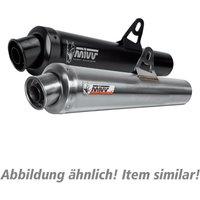 MIVV X-Cone Auspuff silber S.013.LC2 für Suzuki GSX-R 1000 B Endschalldämpfer