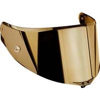 AGV Visier Pista GP-R/Corsa-R Pinlock-/Tear-Off vorbereitet gold verspiegelt