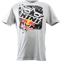 KINI Red Bull T-Shirt Square Tee grau Herren Größe L
